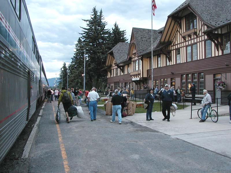 Whitefish station