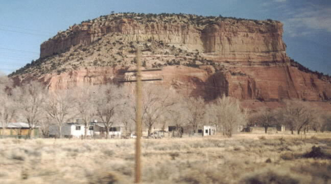 Red Mesa AZ-NM State Line